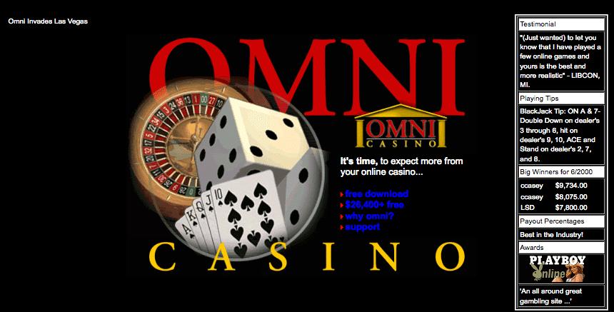 Omni Casino July 2000