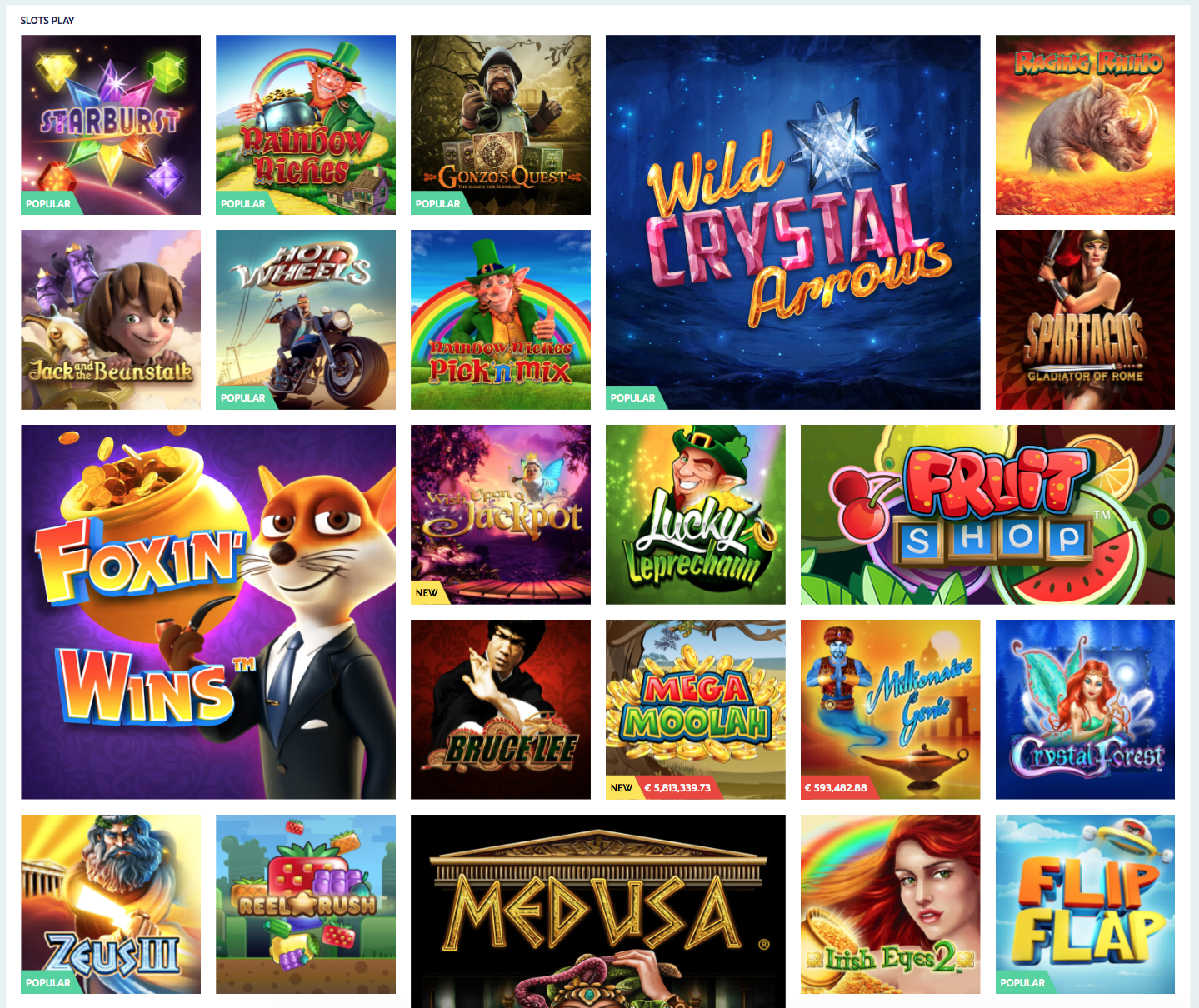 Get Money Back on Over 500 Casino Games | PlayOJO