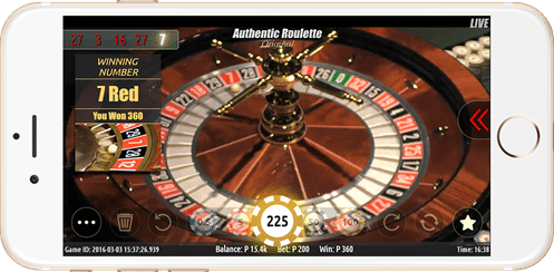 authentic roulette 2