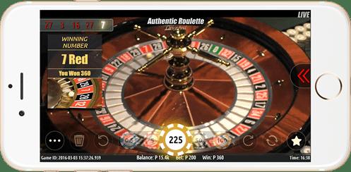 authentic roulette 2