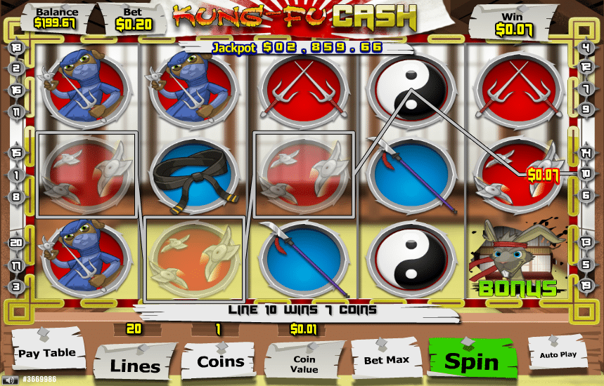 Kung Fu Cash Slot - Play Free Parlay-games Games Online