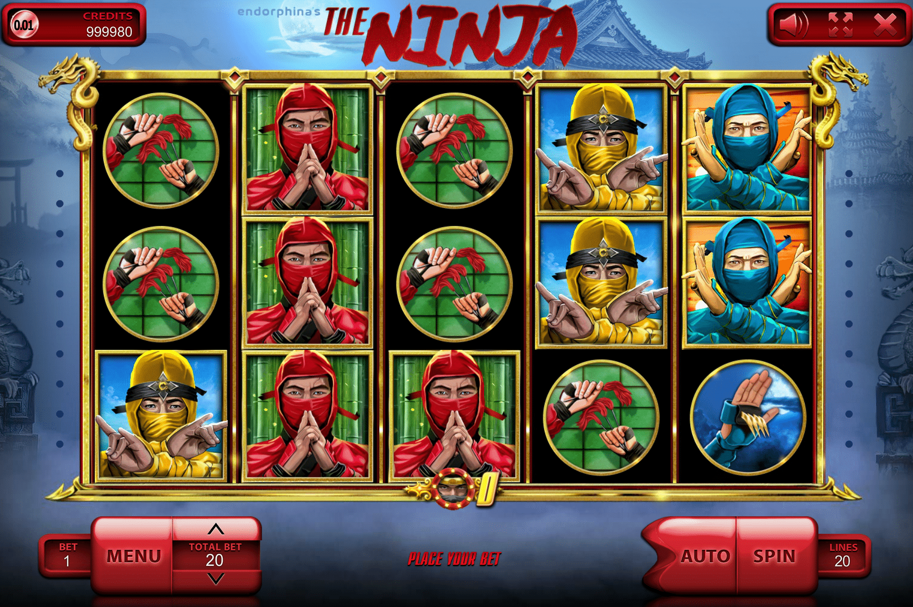 ninja slot