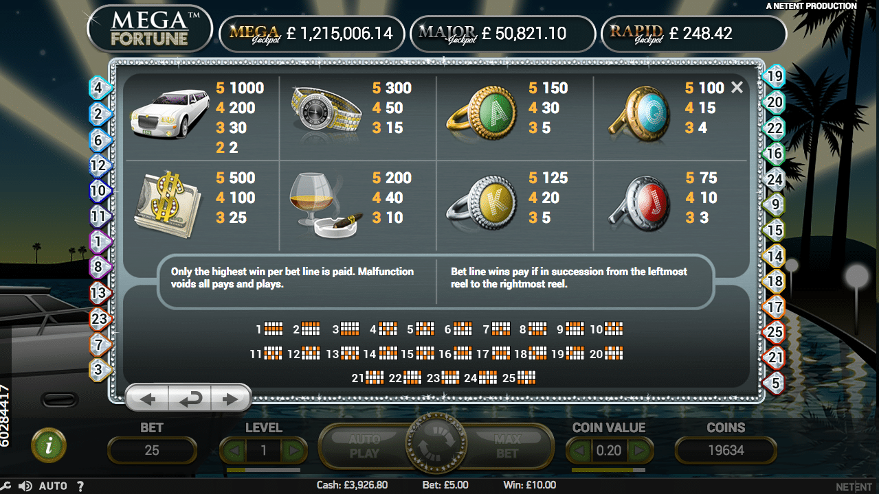 mega fortune 3