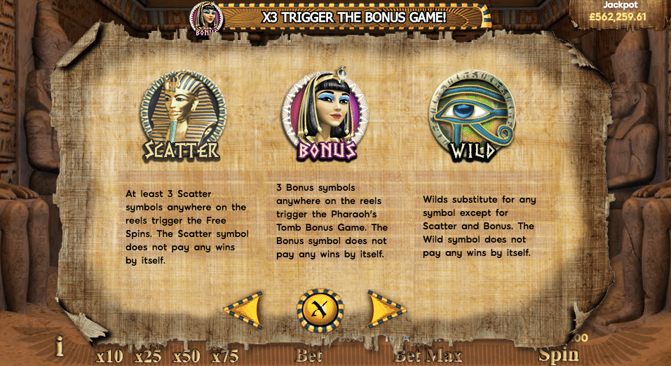 rise of the pharaohs 1
