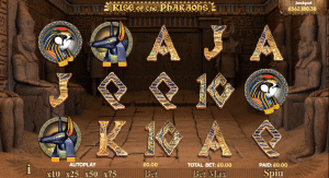 rise of the pharaohs slot